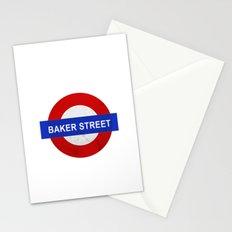 Sherlock Baker Street Print Stationery Cards