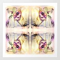 fairy Art Prints featuring Fairy by CrismanArt