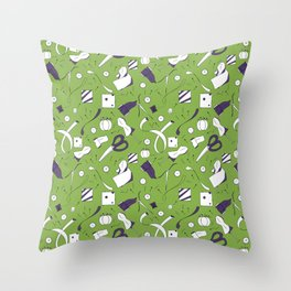 Sewing Throw Pillow