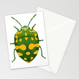 Physic Nut Stink Bug Stationery Cards