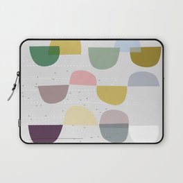 Mid century temporary art VIII Laptop Sleeve