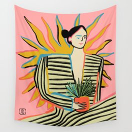 SUN POWER Wall Tapestry