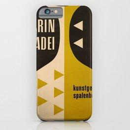 Advertisement magasin karin casadei  basel iPhone Case