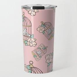 Plant-Lover-Pink-Palette Travel Mug
