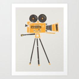 Cine Camera Art Print