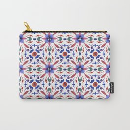 Floral ornament. Watercolor Carry-All Pouch