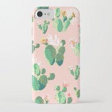 Vintage Cactus Pattern iPhone 7 Slim Case