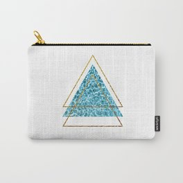 Trippy Triangles Carry-All Pouch