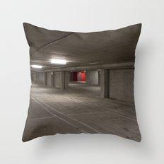 Parking Garage Throw Pillow