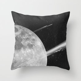 Space Mission-Hyperloop Throw Pillow