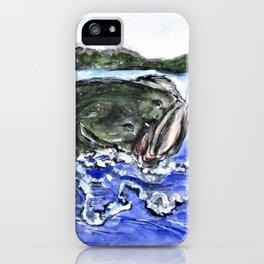 Jumping Bass iPhone Case