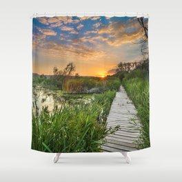 """Towards the sun....."" Shower Curtain"