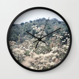 Buckwheat Afternoon Wall Clock