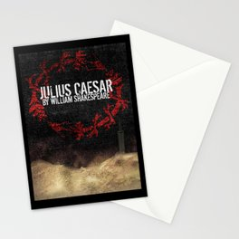 Julius Caesar by William Shakespeare, Milwaukee 2016 Stationery Cards