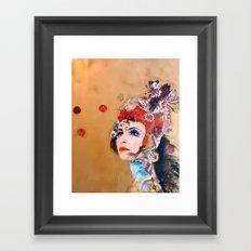 Coral Shells Framed Art Print