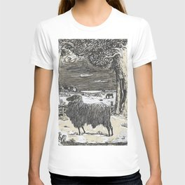 Sheep in a landscape , Richard Roland Holst, 1878 T-shirt