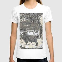 Sheep in a landscape , Richard Roland Holst, 1878 T-shirt