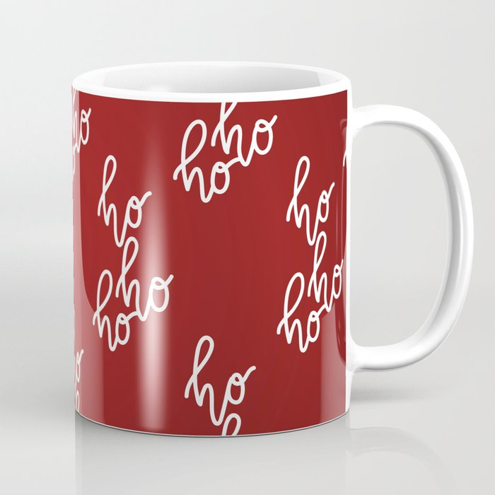 Christmas Mugs.Hohoho Merry Christmas Coffee Mug By Greennatural