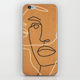 Abstract Face 6 iPhone Skin