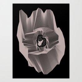 Built On Glass Art Print