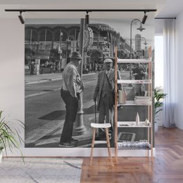The Old Man Wall Mural