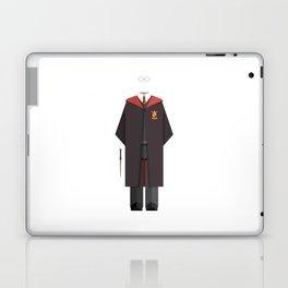 Young Fictional Wizard Minimal Sticker Laptop & iPad Skin