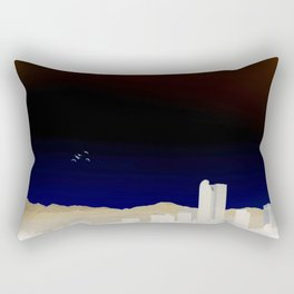 Denver Flyby Rectangular Pillow