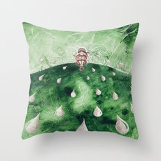 The Tale's Peasant Throw Pillow