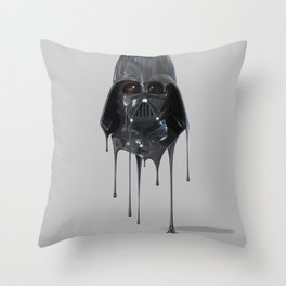 Darth Vader Melting Throw Pillow