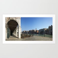 italy - venice - widescreen_647-649 Art Print