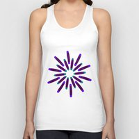 fireworks Tank Tops featuring Fireworks  by Alexandra Aguilar