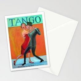 Afiche de tango 2 por Diego Manuel Stationery Cards
