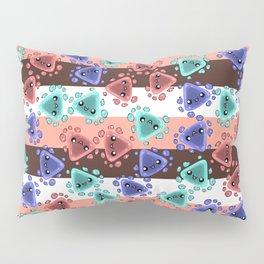 Ameba Blobs - Colorful Putty Pillow Sham