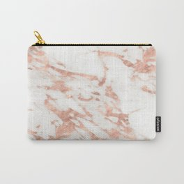Taggia rose gold marble Carry-All Pouch