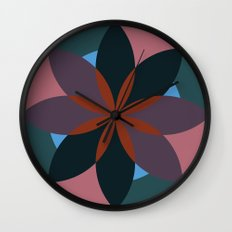 Douche Flower Wall Clock
