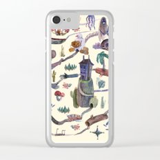 the MAP Clear iPhone Case