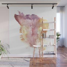 Verronica Kirei's Vulva Monotype Print Wall Mural