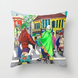 Vietnamese Gangsta Throw Pillow