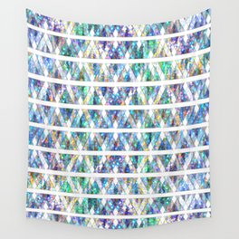 Geometric Glossy Pattern G331 Wall Tapestry