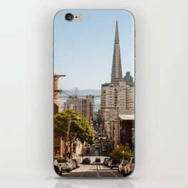 View of San Francisco from China Town iPhone Skin