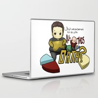 data Laptop & iPad Skins featuring Data Overload by Ai-hime