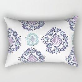 doodle ikat Rectangular Pillow