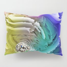 Diamond Exposition in Colours Pillow Sham