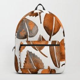 Cascading Leaves – Orange Palette Backpack
