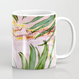 Palm leaf on marble 01 Coffee Mug