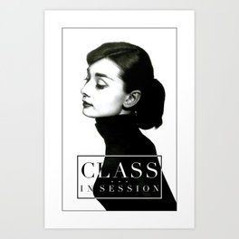 Class in Session Art Print