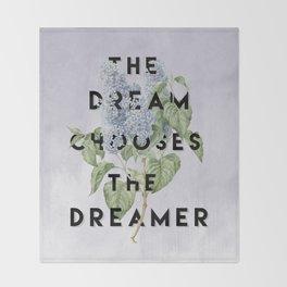 Strange the Dreamer Throw Blanket