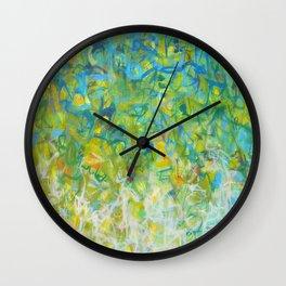 Spring's Delight Wall Clock