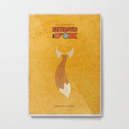 Fantastic Mr. Fox Metal Print