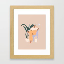Plants Framed Art Print